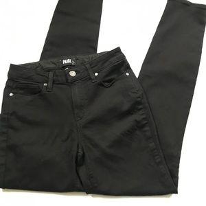 Paige Black Hoxton Ultra Skinny Stretch Jeans
